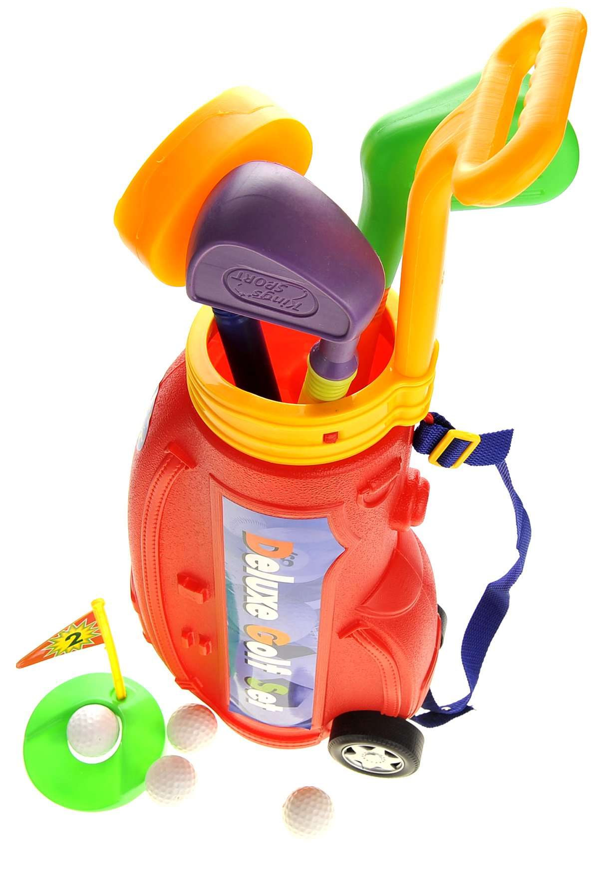 PowerTRC Deluxe Golf Play-Set for Kids w/ Easy Storage by PowerTRC (Image #2)