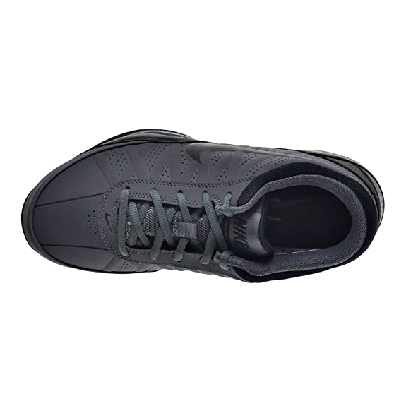 Amazon.com | Nike Air Ring Leader Low Men's Shoe Dark Grey/Black 488102-002  | Fashion Sneakers