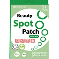 MEAROSA Ultra Thin Spot patch Invisible Pimple Patch 51 dots - VEGEN, Absorbing cover, Hydrocolloid Blemish Beauty Spot…
