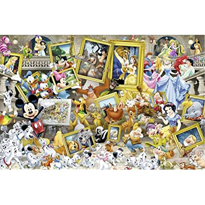 Luck7 Toys - Jigsaw Puzzles for Adults 1000 Piece - Cartoon Characters Collection - Kids Puzzles Toys Educational Puzzles Jigsaw: Toys & Games