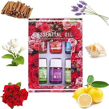 3c00d0907 Amazon.com : 6Pcs Essential Oils for Teen Girls Women, Clearance Sale!  Iuhan 6Flavor 3ML/Box Pure Aromatherapy Essential Oil Skin Care Bath  Massage Beauty ...