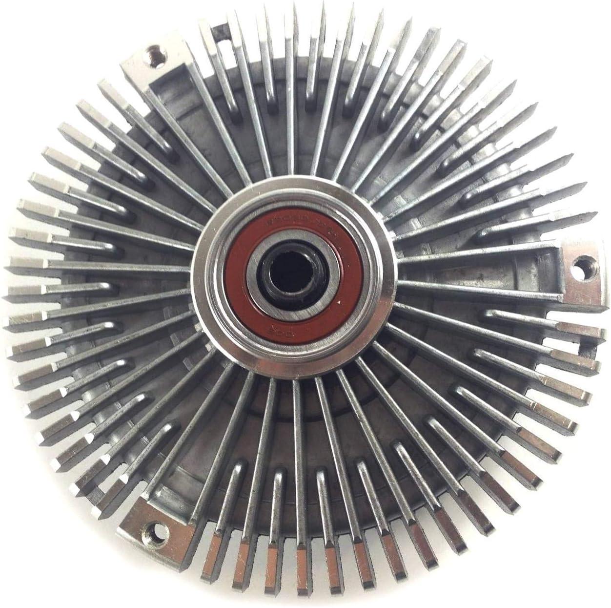 VIOJI 1pcs Radiator Cooling Fan Visco Clutch 1032000522 for 1987-1993 Mercedes-Benz 190E 2.6 Sedan W201