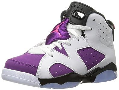 quality design 90d0b 030af ... buy jordan 6 retro gp little kids shoes white vivid pink bright grape  black cda0a 131fb