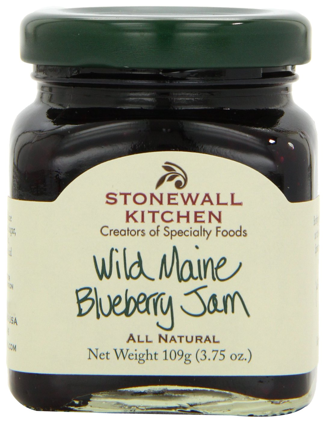 Amazon.com : Stonewall Kitchen Wild Maine Blueberry Jam, 3.75 Ounce ...