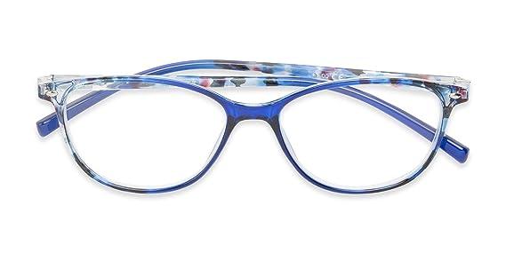 Amazon.com: Gafas de lectura con diseño de ojo de gato de la ...