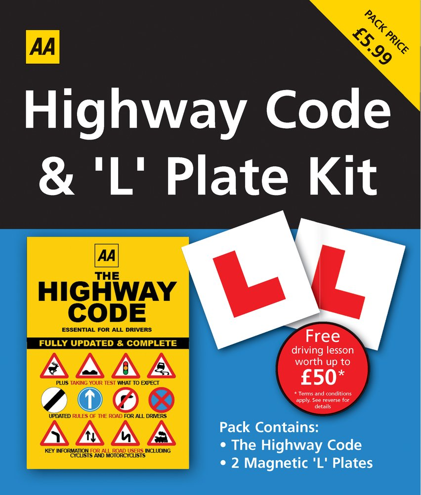Highway Code & L Plate Pack