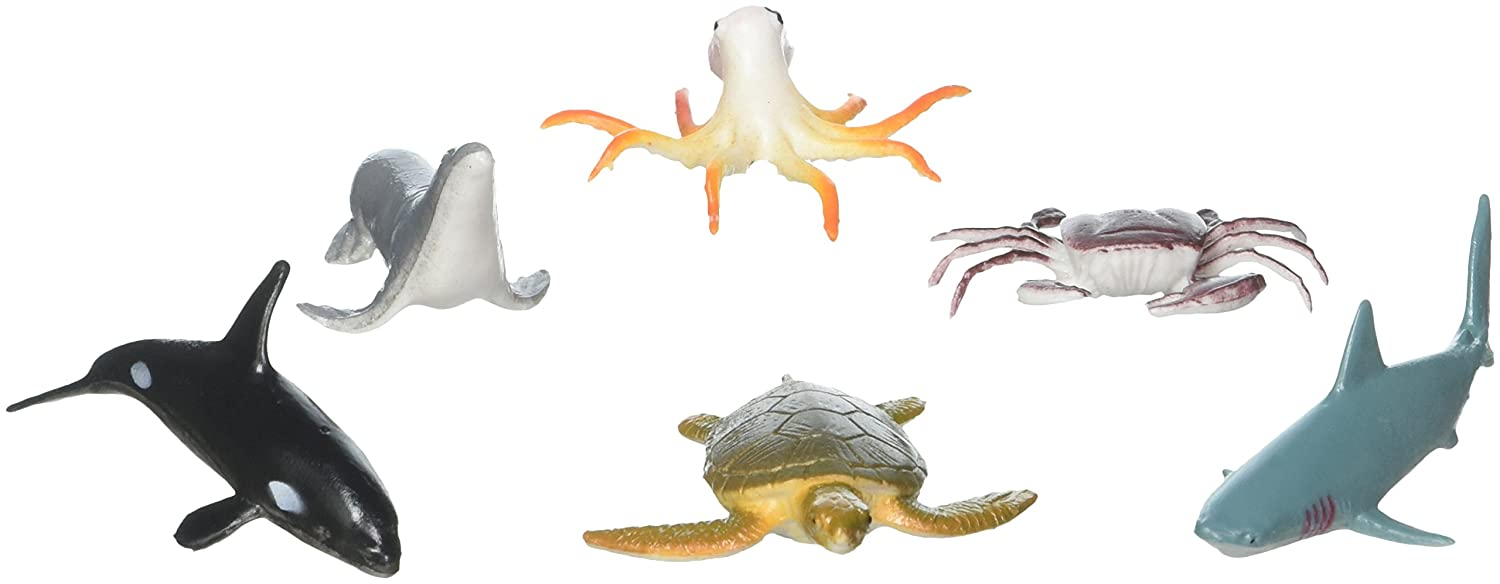 Animals & Dinosaurs Action Figures Realistic Educational Sea Animal Figures Assorted Sea Animals Toys For Learning Yet Not Vulgar