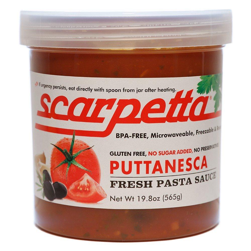 Scarpetta Puttanesca Sauce, 19.8-Ounce Jars (Pack of 4)