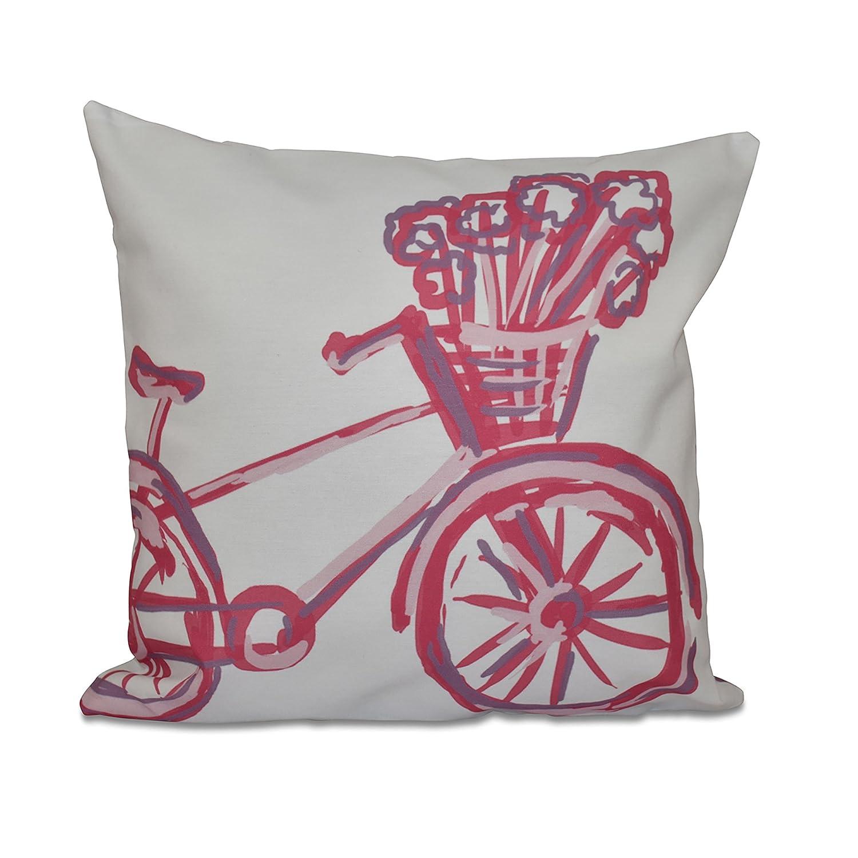 Amazon.com: E Por Diseño La bicicleta geométrica almohada de ...