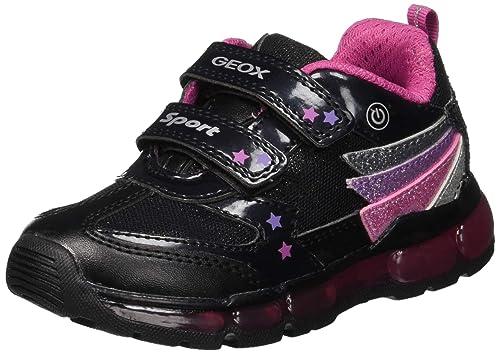 Geox J Android Girl B, Zapatillas para Niñas: Amazon.es: Zapatos y complementos