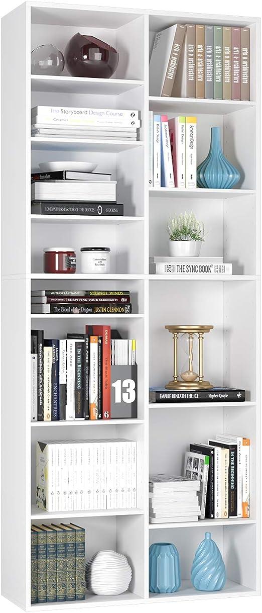 Homfa Estantería para CDs y DVDs Librería Estantería Librería ...