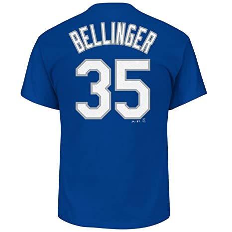 39887bb8a Image Unavailable. Image not available for. Color  Majestic Cody Bellinger  Los Angeles Dodgers  35 Youth Player T-Shirt ...