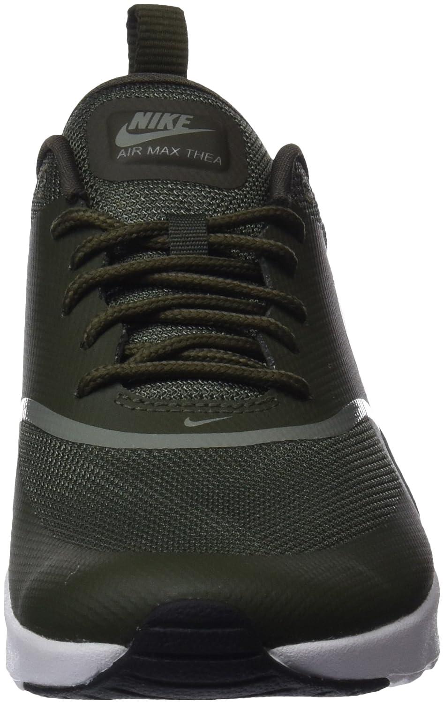 Nike Damen Wmns Air Max Thea Gymnastikschuhe Grün (Cargo Khakidark Stuccoblack 310) , 38 EU
