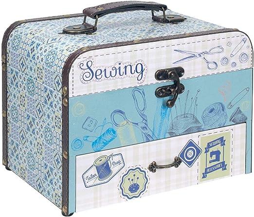 Caja Costura Decorativa con Set de Costura