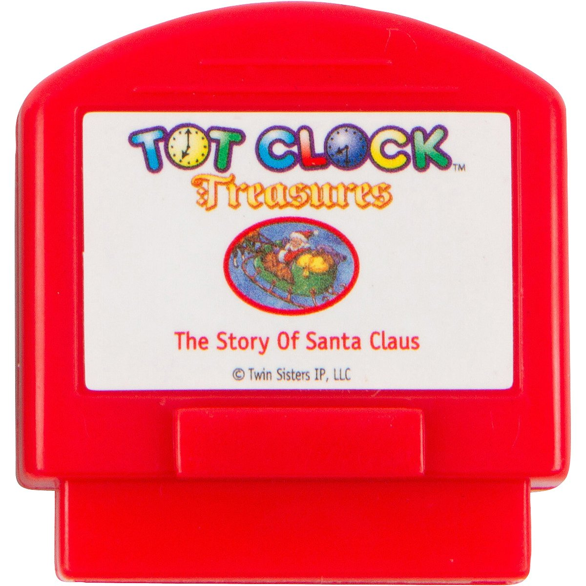 Tot Clock Treasures: Christmas Set (Twas The Night Before Christmas and the Story of Santa Claus) (compatible with New & Improved Tot Clock only)