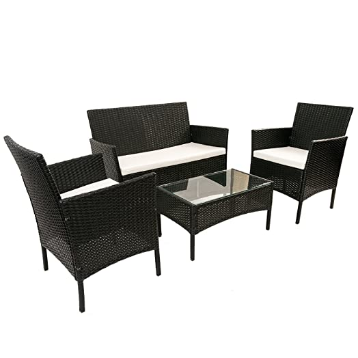 BTM Black Rattan Garden Furniture Sets Patio Furniture Set Garden Furniture  Clearance Sale Furniture Rattan Garden Part 91