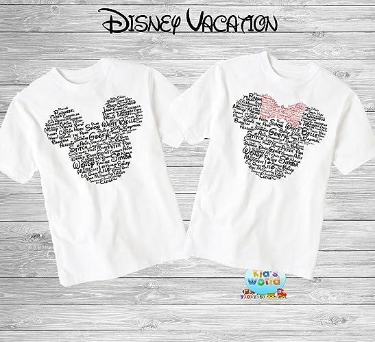 cefa16b6851 Amazon.com  Disney Family Shirts Disney Shirts