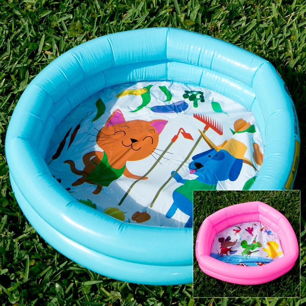 Amazon QJ Import Inc Mini Inflatable Duck Pond Pool Toys Games