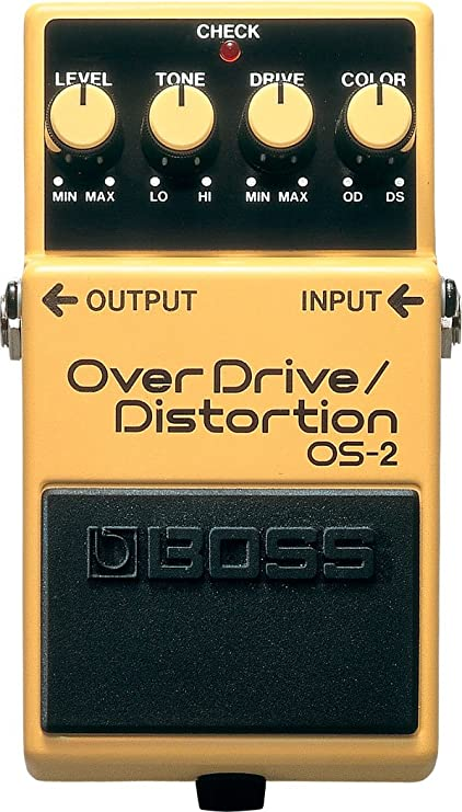 Boss OS-2 OS2  Overdrive Distortion Mod Kit by Fromel