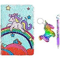 Unicorn Notebook A5 y juego de bolígrafos