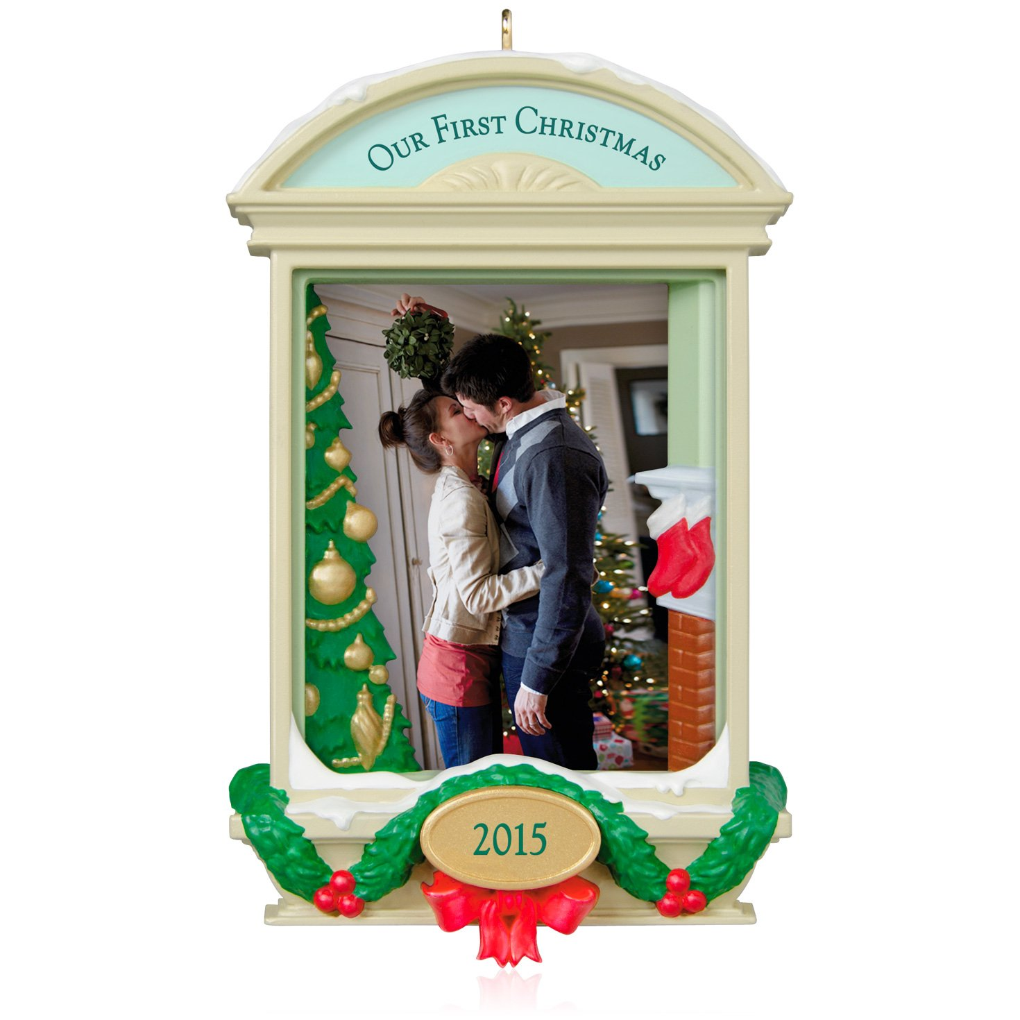 Amazon.com: Hallmark Keepsake Ornament: Our First Christmas ...