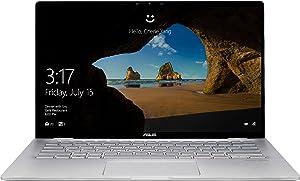 """ASUS Q406DA - 14"""" FHD Touch - AMD Ryzen 5-8GB - 256GB SSD - Silver"""