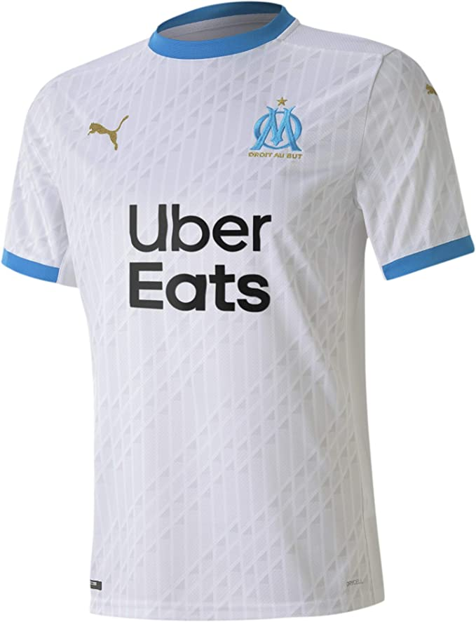 Maillot de l'Olympique de Marseille en promotion