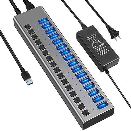 ZUEN Concentradores USB C, concentrador de Puertos múltiples ...