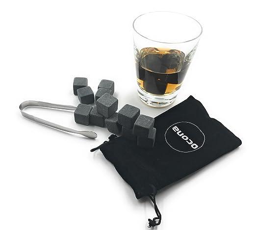 2 opinioni per ocona © Premium pietre del whisky (12 pezzi) cubetti di ghiaccio riutilizzabili