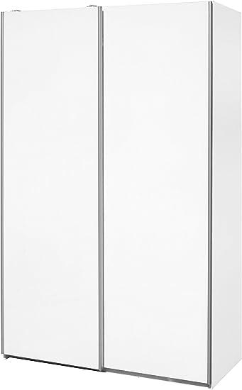Mueblecasa Com Schrank Flugelturen Premium 200 Cm Hoch X 120 Cm Breit X 60 Cm Boden 200cm Alto X 120cm Ancho X 60cm Fondo Weiss Amazon De Kuche Haushalt