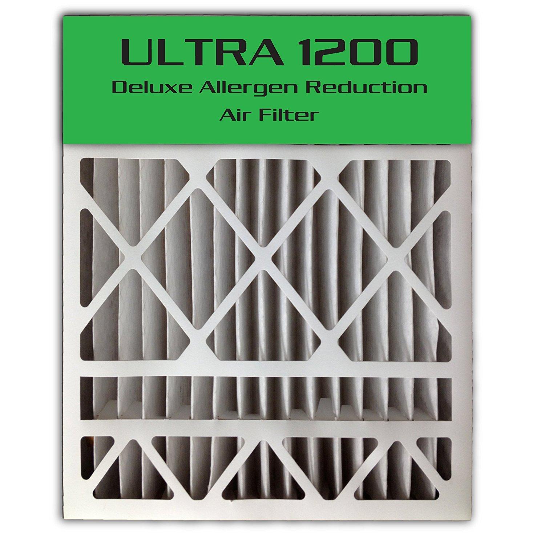 2-Pack 24x25x4//24x25x5 23.8x24.8x4.3 ULTRA 1200 MERV 13 Bryant Replacement Air Filter