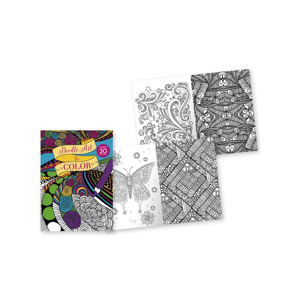 Amazon.com: Coloring Books for Adults: Doodle Art to Color ...