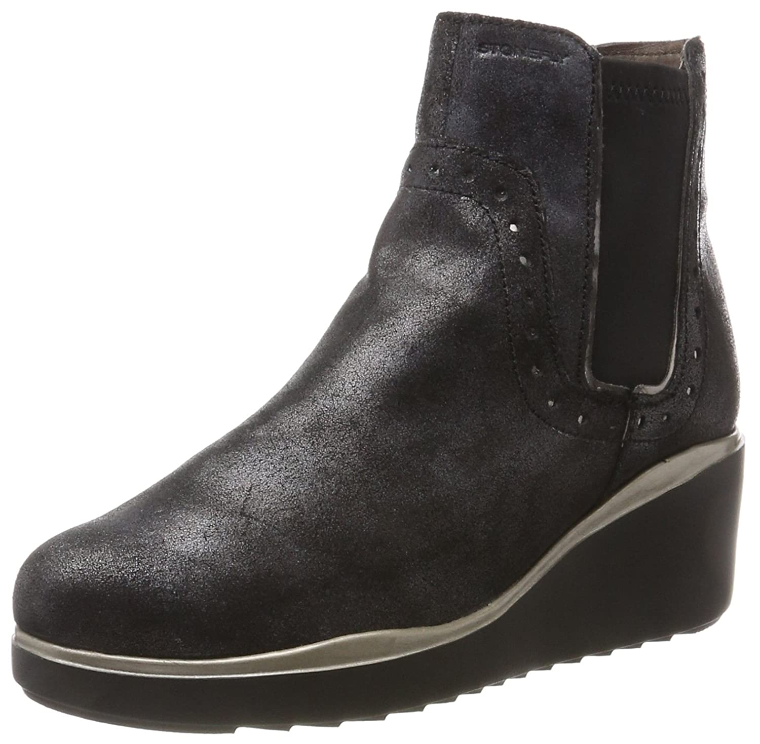 Womens Eclipse 2 Lam.Velour Chelsea Boots Stonefly 2pEprWN4