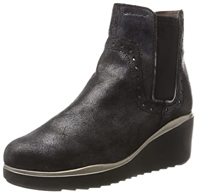 fa8231d5 Stonefly Women's Eclipse 2 Lam.Velour Chelsea Boots: Amazon.co.uk ...