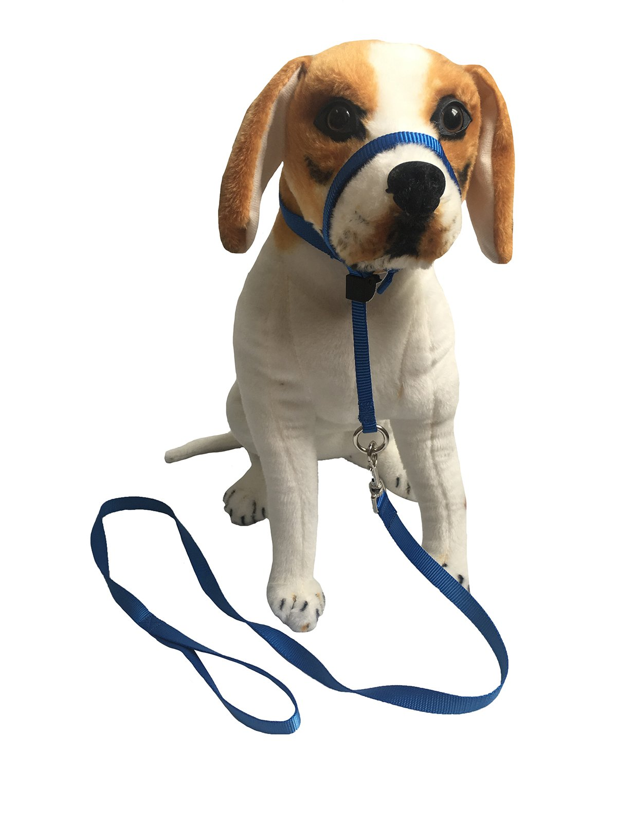 Charmsong Dog Head Collar Halter Set 3 Sizes 3 Colours Painless Gentle Control S Blue