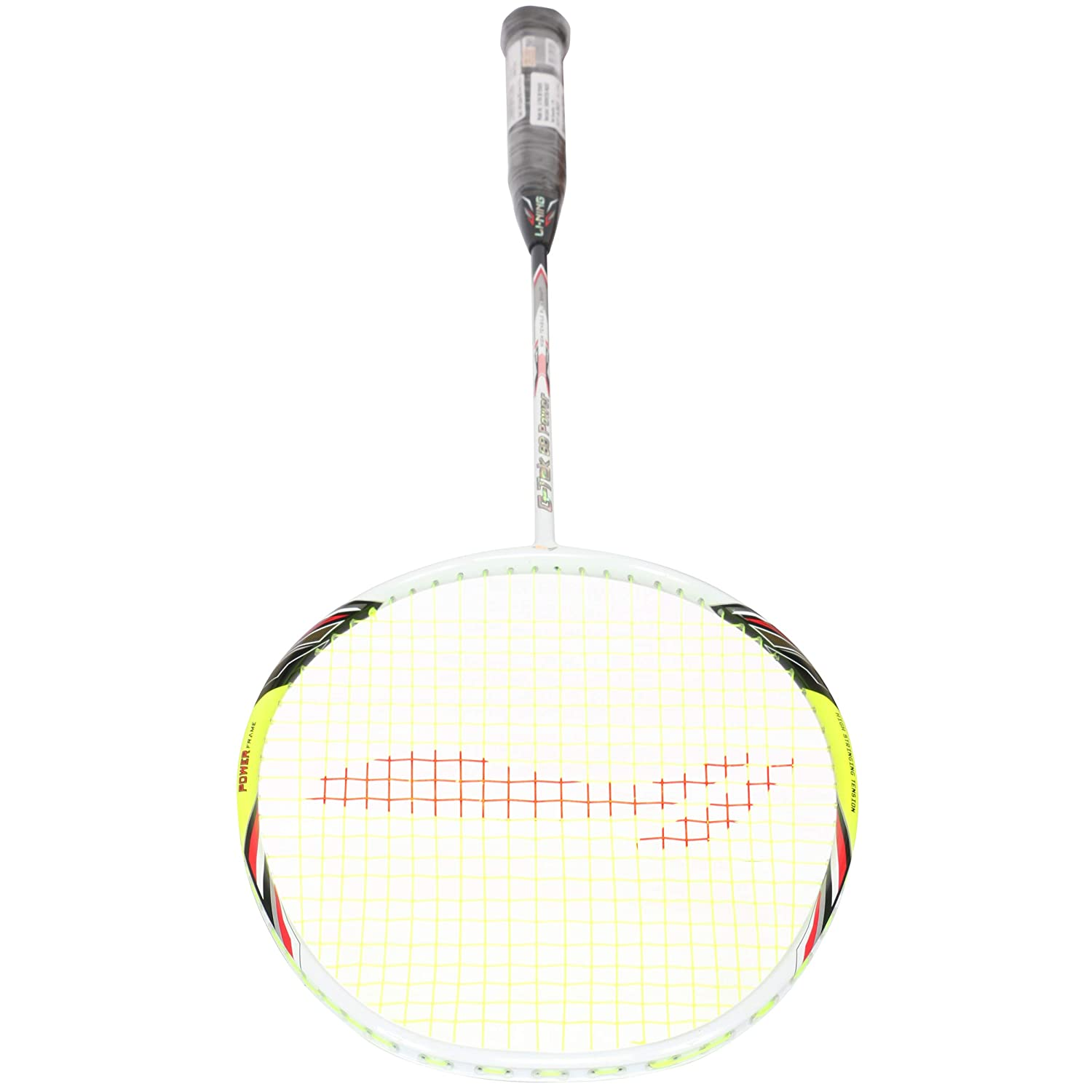Gms with Full Carrying Bag Cover Li Ning Badminton Racket Player Edition Light Weight Carbon Graphite Shaft 80