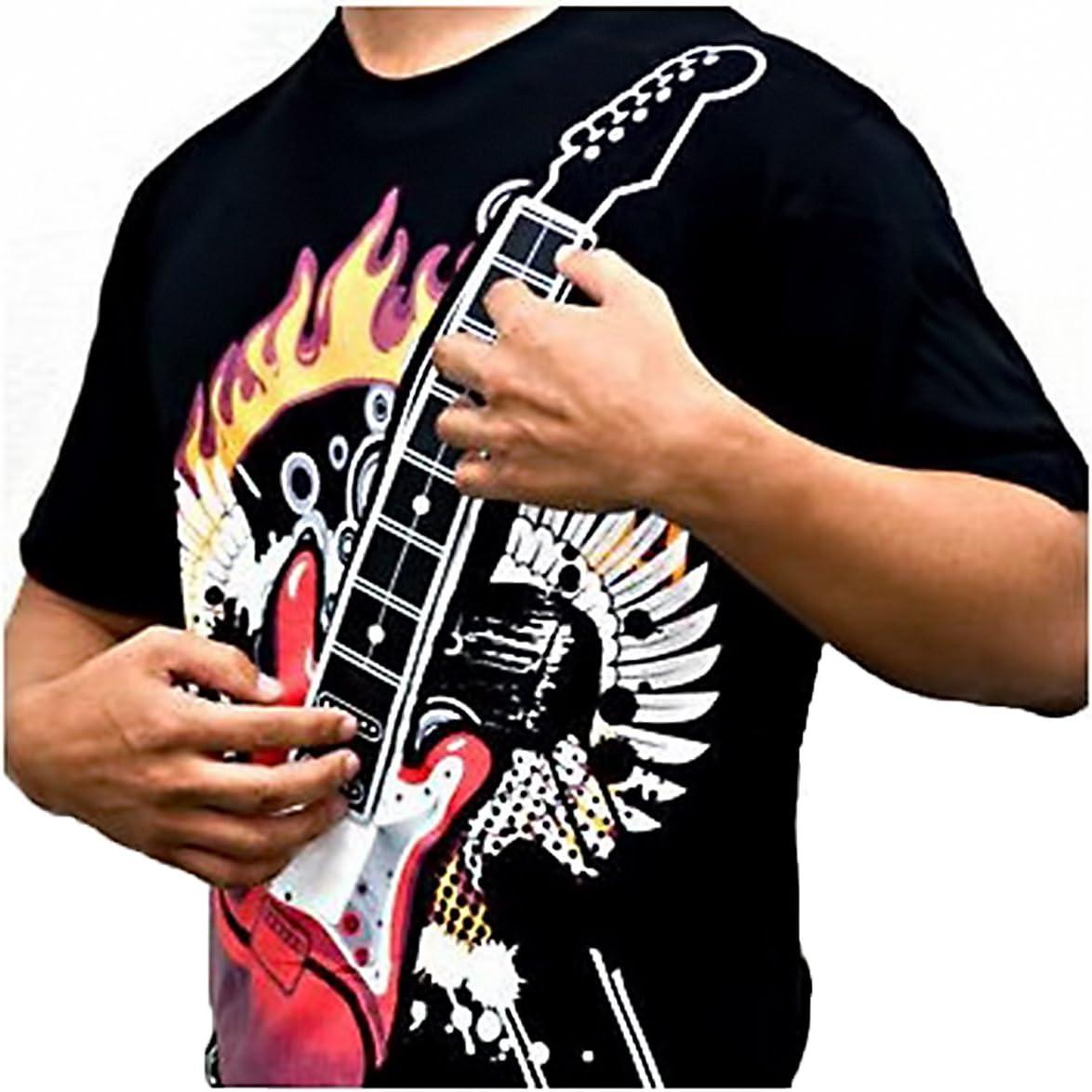 BlueBD GmbH BD @/ Misura: XXL Motivo: Chitarra elettrica /T-Shirt da Uomo