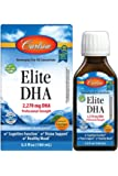 Carlson - Elite DHA, 2270 mg DHA, Professional Strength, Norwegian Fish Oil Concentrate, Cognitive Function & Vision…