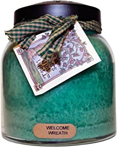 A Cheerful Giver A Welcome Wreath 34oz Papa Jar Candle