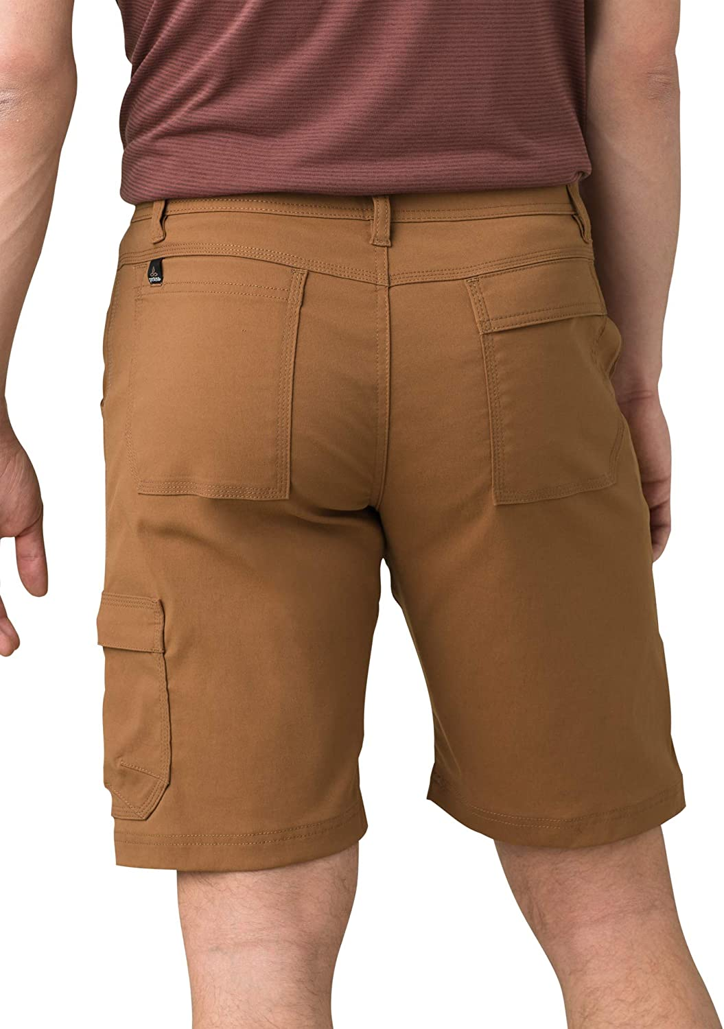 Water-Repellent Shorts for Hiking and Everyday Wear Mens Stretch Zion Lightweight prAna