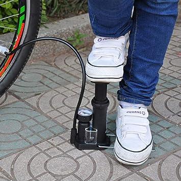 LouiseEvel215 Mini Bomba de Aire de Alta presión Bicicleta ...
