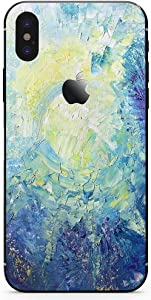 DowBier iPhone Bottom Decal Vinyl Skin Sticker Cover Anti-Scratch Decal for Apple iPhone (iPhone 7 Plus, Blue Sky)