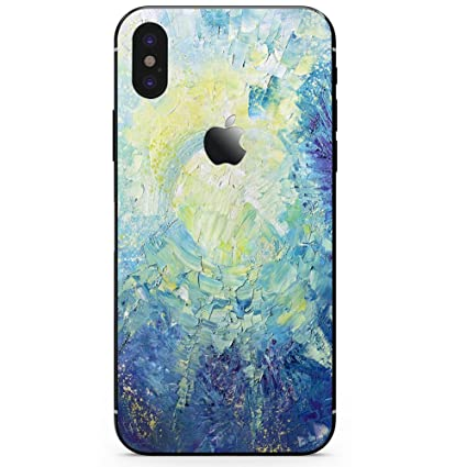 new style 4a0bf e7676 DowBier iPhone Bottom Decal Vinyl Skin Sticker Cover Anti-Scratch Decal for  Apple iPhone (Night Sky, iPhone X)