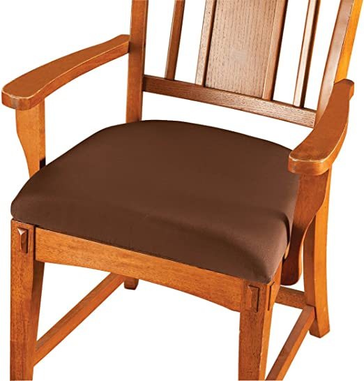Seat Covers Stretchable Soft Removable Machine Washable Dining Chair