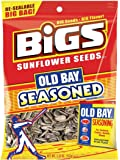 BIGS Old Bay Seasoned Sunflower Seeds, 5.35-ounce Bag (Pack of 3)