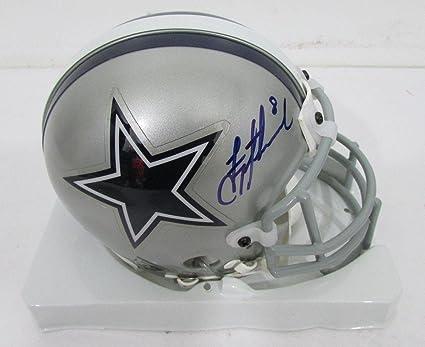703a083ba Autographed Troy Aikman Mini Helmet - Authentic AC71438 - PSA DNA Certified  - Autographed NFL