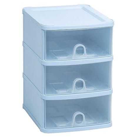 Schubladenbox DIN A5 25x20x29 cm Schubladenregal Schubladen Box Kunststoff Schubladenschrank Schubladencontainer Regal 3 Kisten Stapelregal Ablage Box Aufbewahrungsbox Organizer Schubladenorganizer