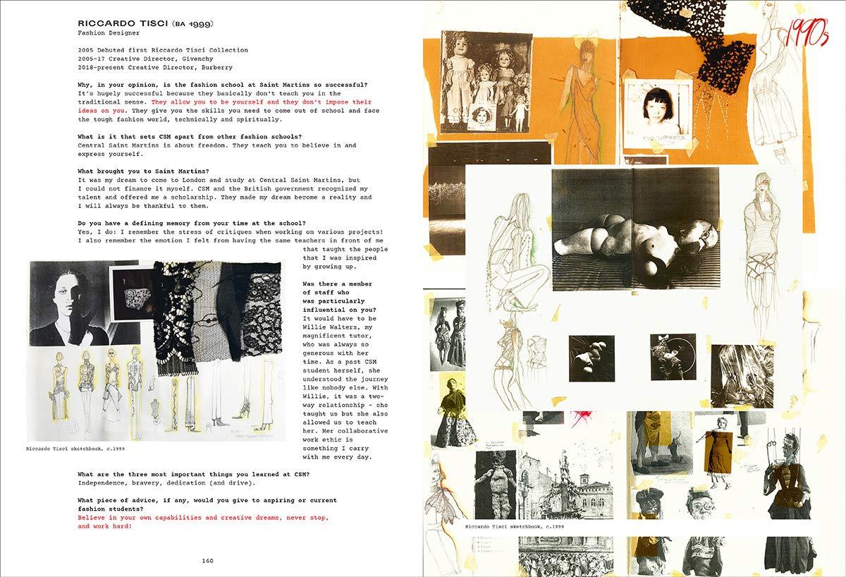 Fashion Central Saint Martins Davies Hywel Blackman Cally 9780500293713 Amazon Com Books