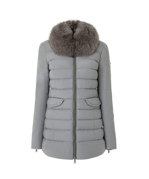 online retailer 77e02 8659c Peuterey MISAE AG FUR Giacconi Donna Grigio 42
