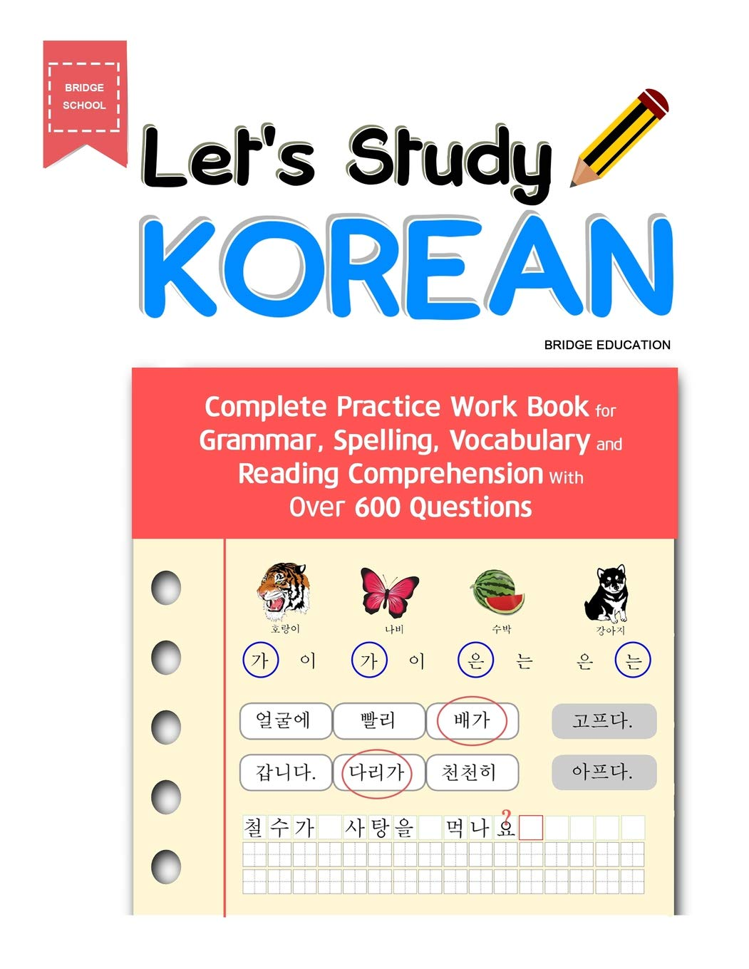 Let's Study Korean: Complete Practice Work Book for Grammar ...
